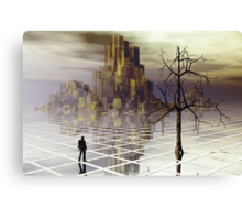 The traveler series:  #5 Canvas Print