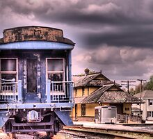 Historic Tuckahoe Train by Kim McClain Gregal