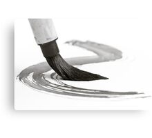 Sumi-e Brush 2 Metal Print