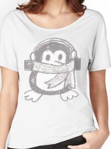 Penguin (Close up) Women's Relaxed Fit T-Shirt