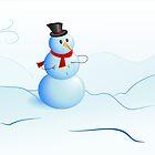 Snowman  by Mylla Ghdv