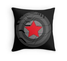 Winter Soldier Shield Throw Pillow