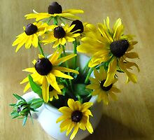 Bouquet of Black-Eyed Susans by Debbie Meyers