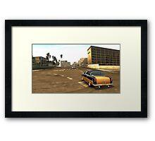 Classic Slider Framed Print