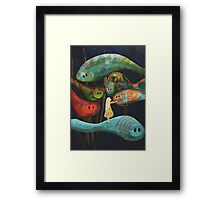 My Fascinating Friends Framed Print
