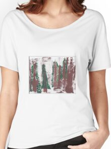Snow Trees Women's Relaxed Fit T-Shirt