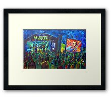 GYMPIE MUSTER - COLLECTION - Main Stage Framed Print