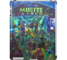GYMPIE MUSTER - COLLECTION - Main Stage iPad Case/Skin