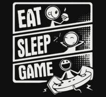 Eat Sleep Game by rizkya085Design