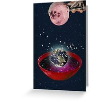 Color Chaos Collection -- The Creation Of The Universe Greeting Card
