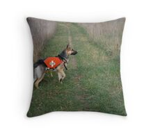 Something in the Wind Throw Pillow