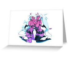 PSG - Scanty & Kneesocks Demon Sisters Greeting Card
