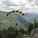 Flying high over Crawford Notch by maxy