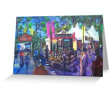 GYMPIE MUSTER - 25TH COLLECTION -COUNTRY LIFE Greeting Card