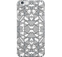 Ab Lines with Grey Blocks iPhone Case/Skin