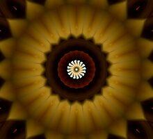 Sun Fire Emerald Twirl by xzendor7