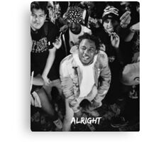 Kendrick Lamar - Alright (Music Video) Picture 3  Canvas Print