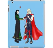 Loki and Thor: Have a Heart iPad Case/Skin