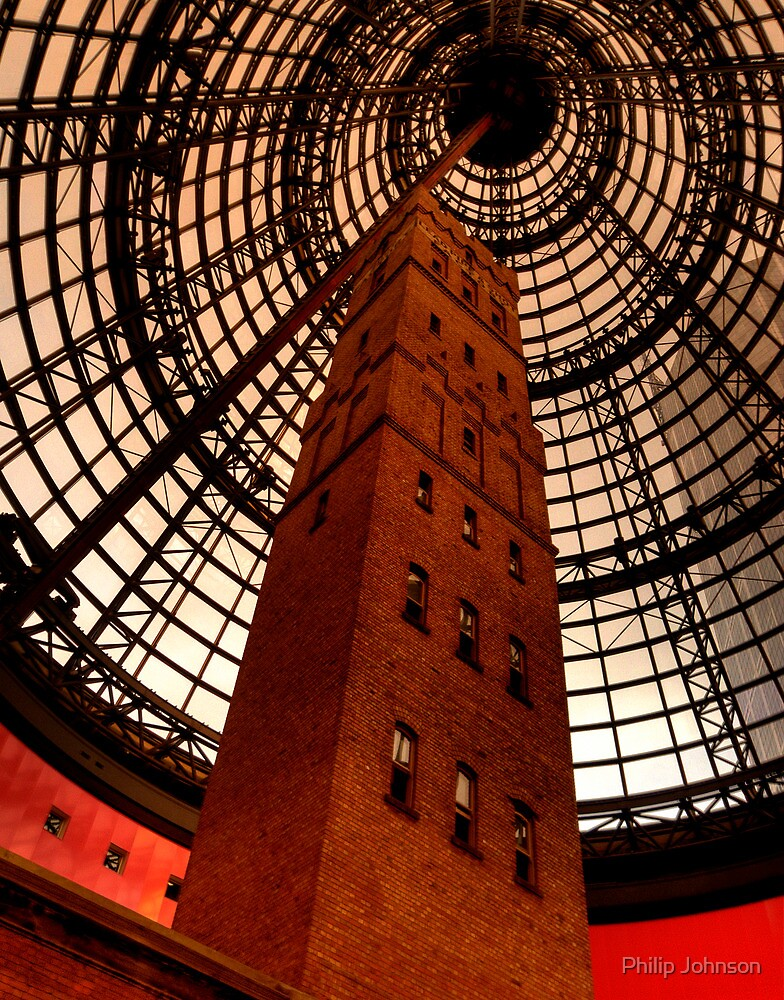 Coops Shot Tower - Angle #4 (colour), Melbourne - The HDR Experience by Philip Johnson
