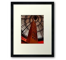 Coops Shot Tower - Angle #4 (colour), Melbourne - The HDR Experience Framed Print