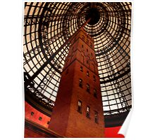 Coops Shot Tower - Angle #4 (colour), Melbourne - The HDR Experience Poster