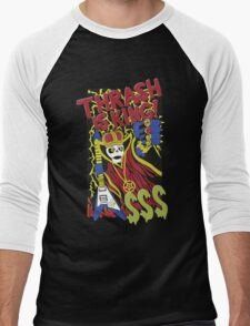 Thrash is King Men's Baseball ¾ T-Shirt
