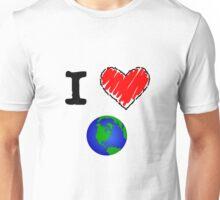 I Love the Earth Unisex T-Shirt