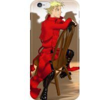 Vash: Well-Earned Rest iPhone Case/Skin