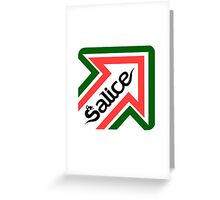Salice shirt Greeting Card