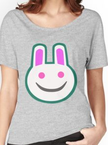 Animal Crossing Bunny Tee Print Women's Relaxed Fit T-Shirt