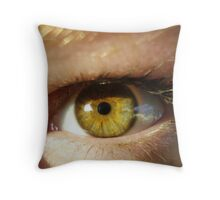 i don't want to close my eyes, you might dissapear.  Throw Pillow
