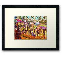 GYMPIE MUSTER - 25TH COLLECTION - MUSTER BAR the corral Framed Print