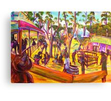 GYMPIE MUSTER - 25TH COLLECTION - MUSTER BAR the corral Canvas Print