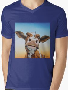 Fearless! Mens V-Neck T-Shirt