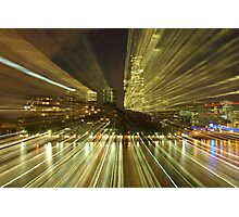 Hyper Town Photographic Print