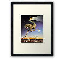 Min Min Light Framed Print