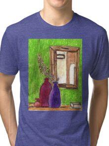 Vases & Mirror Tri-blend T-Shirt