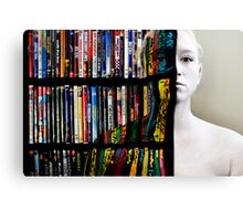 Just Blending in ya know Canvas Print