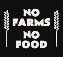 No Farms No Food by rizkya085Design