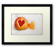 Sweet & Sour Framed Print