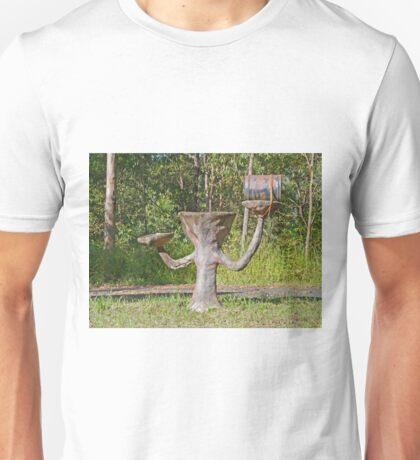 Letterbox/Birdbath, Wongawallan, Queensland, Australia Unisex T-Shirt