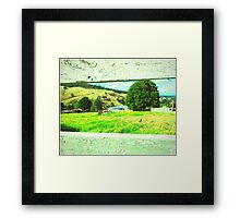 Sneak peek of Harmony Hills Framed Print