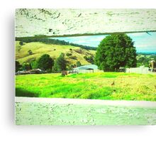 Sneak peek of Harmony Hills Canvas Print