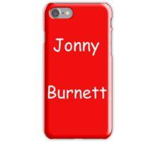 Jonny Burnett iPhone Case/Skin