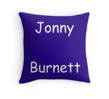 Jonny Burnett Throw Pillow