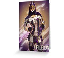 AC: Brotherhood Hellequin Greeting Card