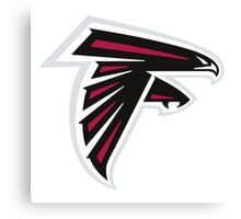 Atlanta Falcons Logo Canvas Print