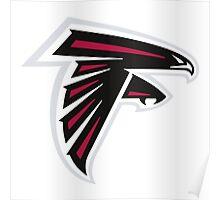 Atlanta Falcons Logo Poster