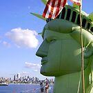 Liberty Head Profile, up close and personal by Mike Cressy