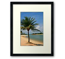 Palm Beach Paradise Framed Print